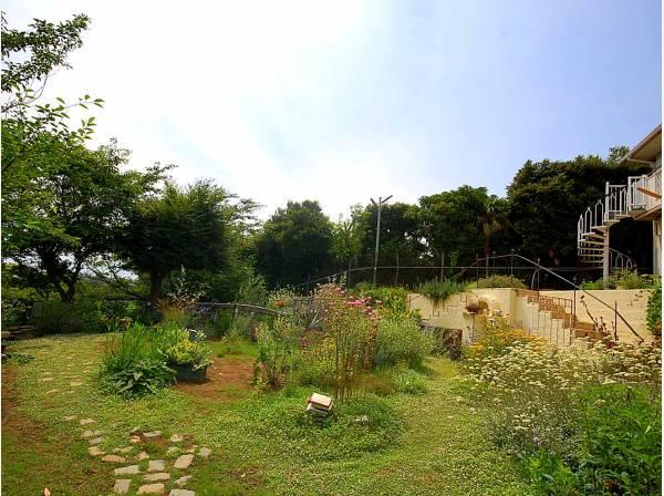 緑に囲まれた穏やかな住環境です。